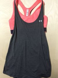 Under Armour Tank Top Size Medium Womens Clothing Workout Grey Edmonton, T6J