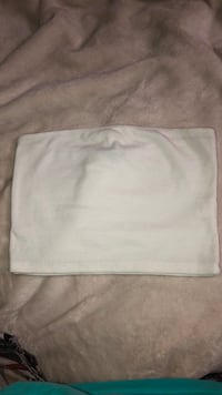 White tube top size M Lowell, 01850