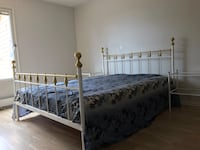 Full size double bed with Mattress in good condition  Bekkestua, 1357