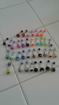 Body jewelry 1 for 6 or 2 for 10 or 5 for 20 Lompoc, 93436