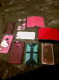Lot of 9 Iphone cases