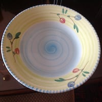 2 Round ceramic plate and bowl /new Gainesville, 20155