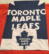 Toronto maple leaf apron