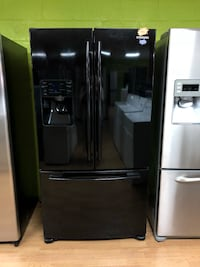 Samsung black French door refrigerator  Woodbridge, 22191