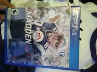 Sony PS4 Madden NFL 18 case Albuquerque, 87107