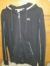 Hugo boss black zip-up jacket 3748 km