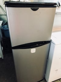 white and black top-mount refrigerator Franklin Lakes, 07417