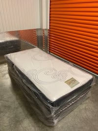 TWIN MATTRESS SIZE - Brand new with box spring included and FREE Delivery to DMV AREA  Gaithersburg, 20877