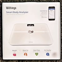 WITHINGS - Smart Body Analyzer  Bradford West Gwillimbury, L3Z 0B9