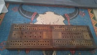Antique foldable Cribbage board Guelph
