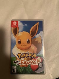 Pokémon let's go eevee Nintendo switch game