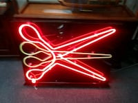 red and white Budweiser neon light signage Houston, 77077