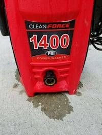Clean Force 1400psi electric pressure washer  Stafford, 22554