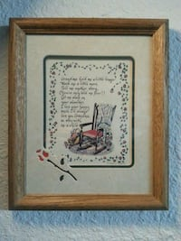 Grandma framed picture with poem Champaign, 61820