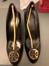 Tory Burch Black Wedge - Like New Silver Spring, 20910