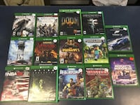 Xbox one games $10-$20 each Milford, 45150
