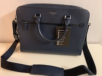 Michael Kors Navy Harrisson Briefcase Oslo, 0674