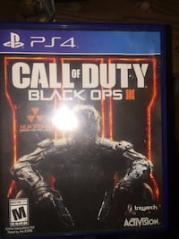 Call of Duty Black Ops 3 PS4 game case El Paso, 79936