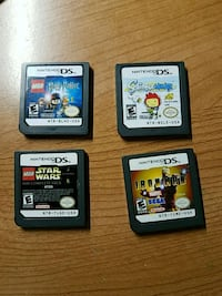 4 Nintendo ds games Silver Spring, 20905