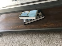 2 glass and metal. Coffee table and side table Detroit, 48226