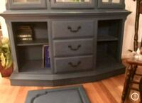 gray wooden 2-drawer chest Centreville, 20121