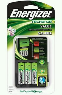 NEW Energizer AA/AAA Charger + Extra Batteries  Kelowna, V1V 1C5