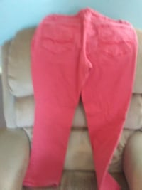 womens red Jeans size 12p King George
