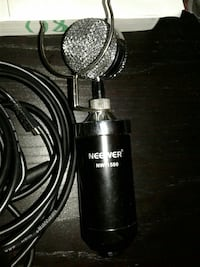 Microphone and condenser with all accessories
