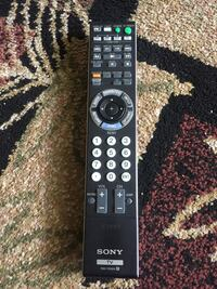 Remote control for Sony TV and Amp