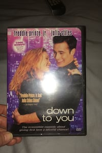 Down to you DVD $5.00 North Highlands, 95660