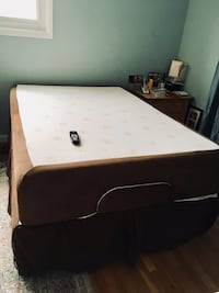Amazing Practically Brand New Full Bed - Adjustable Base and Memory Foam Mattress Bethesda, 20817