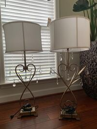Pair of tall lamps in very good condition McLean, 22101