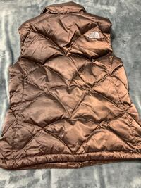 WOMENS BROWN 550 DOWN PUFFER NORTH FACE VEST Helena, 35007
