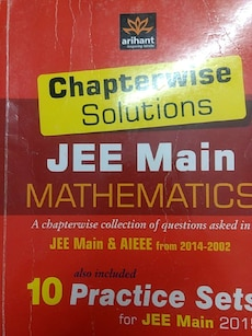 Chapterwise Solutions Jee Main Mathematics