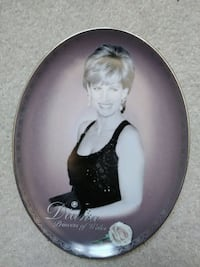 Collectable Potrate of Diana. The Princes of Walle