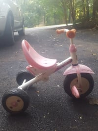 kid's white, pink and black trike Great Falls, 22066