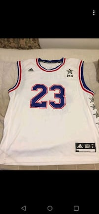 2015 All-Star Game LeBron James Jersey Woodstock, 22664