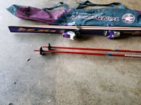 Skis with bindings, poles, boots with storage bags Gaithersburg, 20882