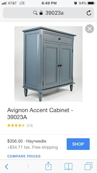 Beautiful new accent cabinet by Jofran furniture only 225$!!! Original price 390$!!!! San Leandro