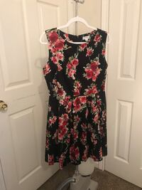 black and red floral sleeveless dress Richardson, 75080