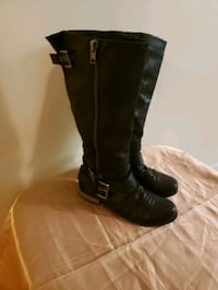 Black Riding Boot size 8