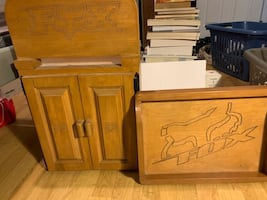 Fox Cabinet and parts tray