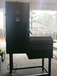 Oklahoma Joe's smoker