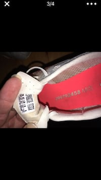 white and red Adidas Yeezy Boost 350 V2 Suwanee, 30024
