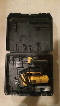 yellow and black corded power tool in toolbox Bradford West Gwillimbury, L3Z