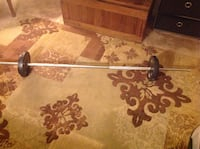 Long weight bar with spin locks and 4 weights Frederick, 21702