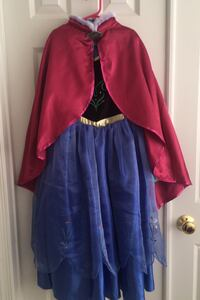 Frozen Anna dress cape boots lot 7/8 Herndon, 20171