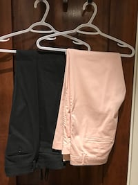 two pink and black dress pants North Vancouver, V7M 1S6