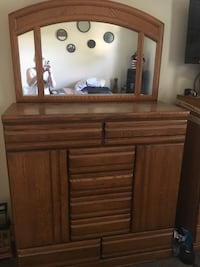Moving Sale 2 dressers for $200.00, not a matching set but pretty close. Need gone ASAP must pick up as I can't deliver. Dressers are alittle bit heavy so please have help with you to move it. TV and stand not included just the 2 dressers. Edmonton, T5W 4R1