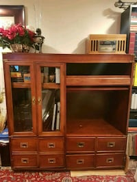 Wooden Media Cabinet Woodbridge, 22193